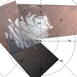 Mars polar cap mystery solved