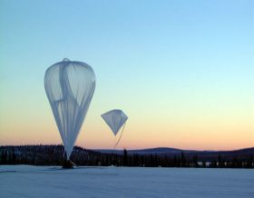 Mars technology on balloon to study the atmosphere