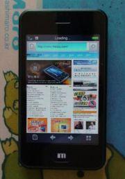 Meizu's M8 iPhone Clone