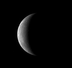 MESSENGER flyby of Mercury