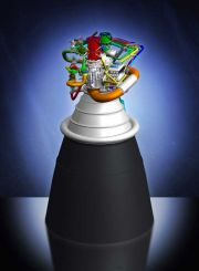 NASA's New High-Performance Engine for Ares Rocket Passes Review