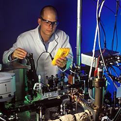 NIST 'Quantum Logic Clock' Rivals Mercury Ion as World's Most Accurate Clock