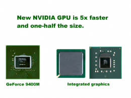 NVIDIA Introduces New Integrated GeForce 9400M GPU