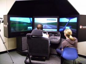 Operating a Driving Simulator