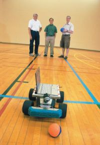 Professors teach robot to 'play ball'