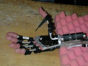 Prototype of the 'Fluidhand'