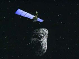 Rosetta spacecraft meets asteroid Steins