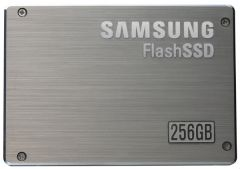 Samsung Now Producing 256GB Solid State Drives