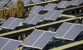 Solar panels on graves give power to Spanish town (AP)