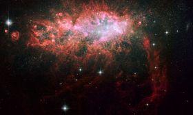 Starburst Galaxy NGC 1569