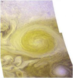 Storn winds blow in Jupiter's Little Red Spot