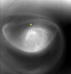 The puzzling 'eye of a hurricane' on Venus