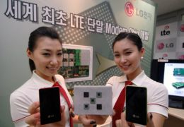 Towards 4G Phones: LG Develops World's First LTE Handset Modem Chip