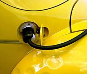 Yellow Fuel Tank