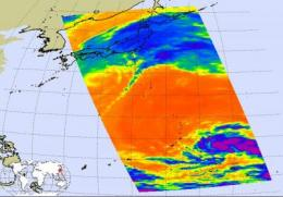 A 2-for-1 for NASA's Aqua satellite: Lupit and 23W in Western Pacific