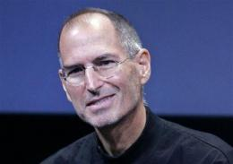 Apple CEO Steve Jobs back at work few days a week (AP)