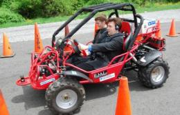 Blind can take wheel with vehicle designed by university engineering design team