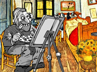 Computer identifies authentic Van Gogh
