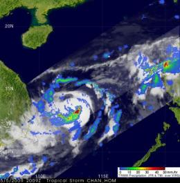 NASA's TRMM satellite captures rainfall from 2 typhoons that soaked Philippines