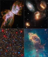 Rebirth of an icon: Hubble's first images since Servicing Mission 4