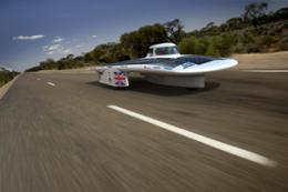 Solar car aims to put rivals in the shade