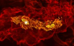 Simulations Illuminate Universe's First Twin Stars