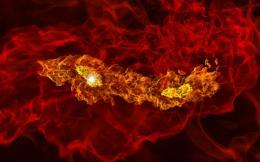 Simulations Illuminate Universe's First Twin Stars