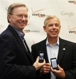 Verizon Wireless, Google to hunker down on phones (AP)