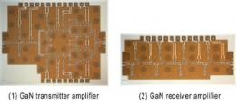 Fujitsu Develops Millimeter-Wave Gallium-Nitride Transceiver Amplifier Chipset