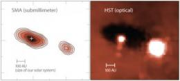 Astronomers discover pair of solar systems in the making