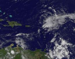 NASA satellite reveals a depressed and disorganized Henri