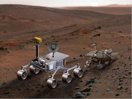 A Mars Rover Named 'Curiosity'