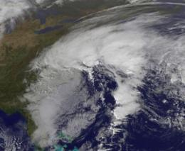 Former Ida a huge rainmaker, causing flooding in the Mid-Atlantic