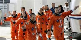 Shuttle Atlantis blasts off on last Hubble mission (AP)