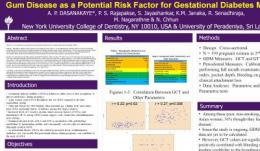 Study finds new evidence of periodontal disease leading to gestational diabetes