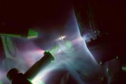 Researchers use trident laser to accelerate protons to record energies