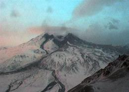 Alaska volcano erupts twice, ash soars 65,000 feet (AP)
