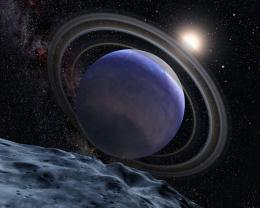 Artist's Concept of Exoplanet HR 8799b