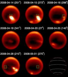 Caltech scientists discover storms in the tropics of Titan