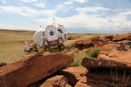 Robotics desert test provides NASA with new set of wheels for moon
