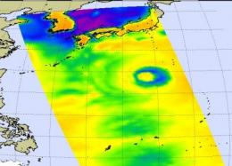 Typhoon Choi-Wan swinging by Japan on weekend