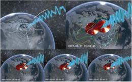 Researchers set alarm for incoming space storms
