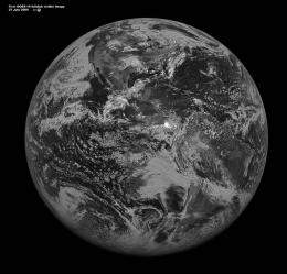 GOES-14 Satellite Takes First Full Disk Image