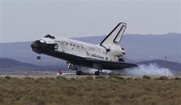 Shuttle astronauts prepare for Texas homecoming (AP)