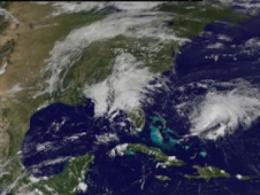 Tropical Storm Danny stars in a GOES Satellite movie