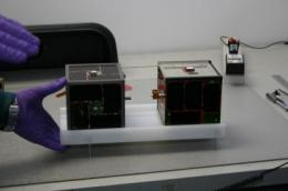 University of Texas 'Picosatellite' to be launched from space shuttle to begin milestone mission