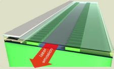 Light-generating transistors to power labs on chips