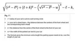 Scientist creates formula for perfect parking