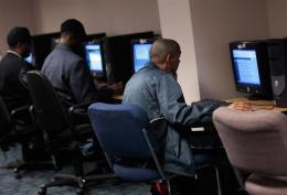 A New York computer user