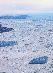Arctic Ocean off the coast of Greenland